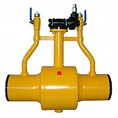 Underground city gas ball valves